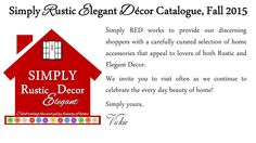 Simply RED: Catalogue 2015