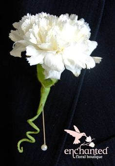 white carnation(but no swirl)
