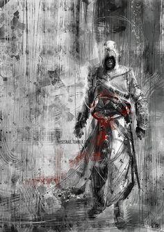 [AC1] Altaïr Ibn-La'Ahad by Namecchan on DeviantArt