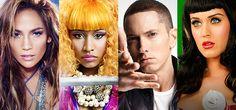 VEVO Playoffs Down To Four: Katy, Nicki, Em & J Lo.!  #VEVOVideoPlayoffs