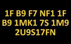 Can you decrypt hidden message (1F B9 F7 NF1 1F B9 1MK1 7S 1M9 2U9S17FN)?