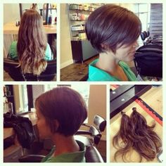 NOT THIS ONE!!! Because of how the back does. Good example of what to show how not to cut my hair.