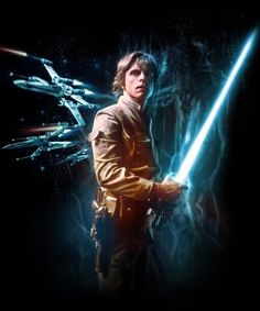 Luke Skywalker artwork, Star Wars