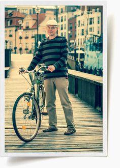 biking around the city