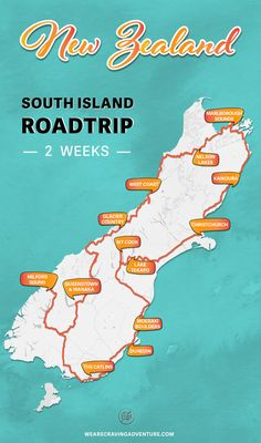 New Zealand South Island Road trip - 2 week itinerary — Craving Adventure