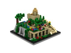 LEGO Ideas - Ancient Wonder: The Hanging Gardens of Babylon