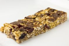 Granola Bars Recipe   Super yummy and easy! I'll be making a ton of these for camping and hiking this summer.
