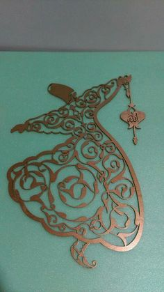 Semazen Aluminum Foil Art, Boarder Designs, Arabian Art, Stained Glass Quilt, Islamic Wall Art, Islamic Art Calligraphy, Gourd Art, Sufi, Love Art