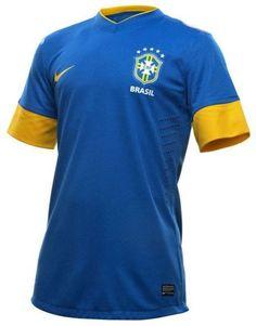Brasil away in blue