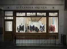 Ready-to-wear and bespoke tailoring at Alexander McQueen Mens Shop | 9 Savile Row, London