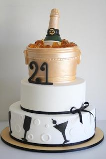 21st birthday cake #21stbirthday