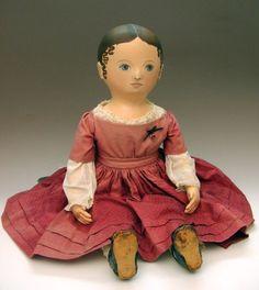Maida Today: Izannah Walker Reproduction Dolls