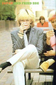 David Sylvian and Mick Karn
