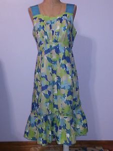 #NWOT #Anthropologie #Girls #from #Savoy #Green #Floral #Dress Size 4 on @eBay #Fashion #Style #ShopSmall #Boutique