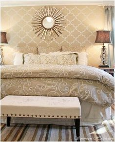 Great neutral toned with lots of pattern! It works beautifully together