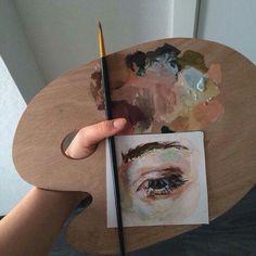 Retro illustration art design 47 New Ideas Art Inspo, Kunst Inspo, Inspiration Art, Diy Art, Art Hoe Aesthetic, Aesthetic Painting, Aesthetic Grunge, Aesthetic Eyes, Arte Sketchbook