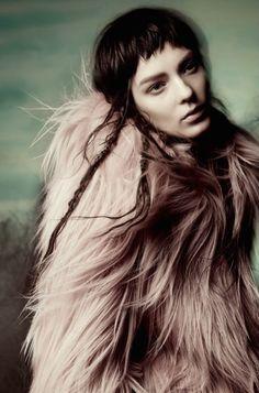 Publication: Vogue Italia November 2014 Model:Kati Nescher Photographer:Sølve Sundsbø Fashion Editor: Ludivine Poiblanc Hair: Shon Make-up: Marla Belt