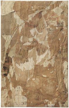 Mimmo Rotella (Italie, 1918-2006) – Senza titolo (1958)