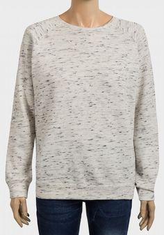 Top Navy or Ivory Minoti Baby Boys Long Sleeve Sweatshirt Jumper
