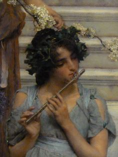 Magnificent art by Sir Lawrence Alma-Tadema