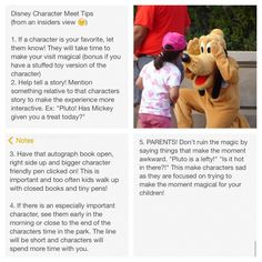 5 Most Important Disney Character Meeting Tips (from a cast member) #disney #disneycharacters
