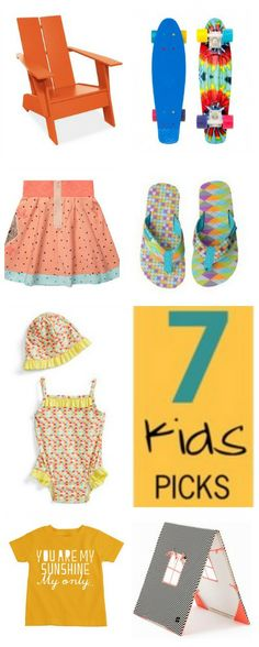 7 Savvy Sassy kids picks