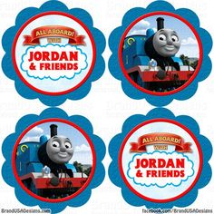 free printable thomas the train cup cake toppers - Google Search