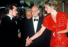 Charlie Sheen and H.R.H. Princess Diana of Wales, née Spencer of The Earls Spencer (1961-1997)