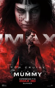 The Mummy IMAX 3D poster