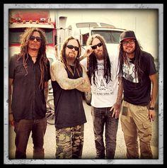 """Korn with Brian """"Head"""" Welch 2012"""