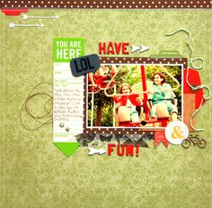 Have fun! (pop off the page week 3) by Marie-Eve at Studio Calico