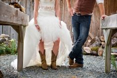 ST-Kristy-Klaassen_Photography-rustic-barn-wedding_0023.jpg  LOVE groom in his jeans and bride in lace and cowgirl boots! This whole wedding is sweet and simple reflecting the couples taste so well...
