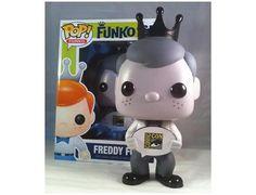Freddy Funko 9-inch Pop Vinyl Black & White SDCC 2013 Exclusive