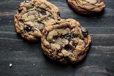 Salted Chocolate Chunk Cookies by pastryaffair, via Flickr