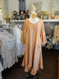 Betty Hadikusumo Vickie Dress in Butterscotch