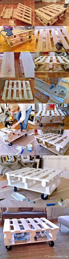 mesa pales DIY muy ingenioso 2