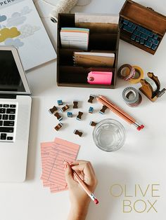 Olive Box - Hand-picked paper & lifestyle products delivered monthly to your door - would love for my birthday!