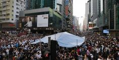Hong Kong protests: Student leaders postpone talks