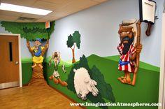 Bible Story Murals for Children's Church