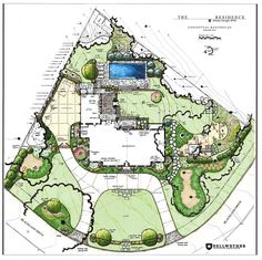 Trends are the toughest thing to maintain when the subject is home and landscape design. Architecture Concept Drawings, Landscape Architecture Drawing, Landscape Sketch, Landscape Design Plans, Garden Design Plans, Landscape Drawings, Pavilion Architecture, Japanese Architecture, Sustainable Architecture
