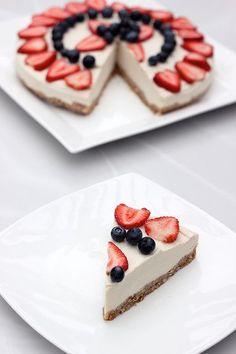 "No-Bake Vegan ""Cheesecake"" - Gluten-free + Refined Sugar-free by @➳ Beth // Tasty Yummies ➳ #paleo"