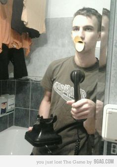 Best mirror picture ever.  Duck lips and phone visible, all the makings for best pic ever!!