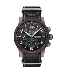 292b4dcaecc Montblanc TimeWalker Urban Speed Chronograph e-Strap Relogio Mont Blanc