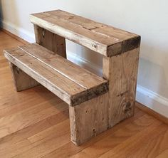Pallet Designs Step Stools And Recycled Pallets On Pinterest