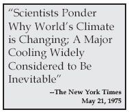 New York Times 1975 Predicts Global Cooling