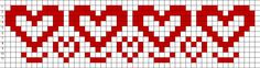 Free Bead Loom Patterns: Hearts Free Bead Loom Patterns: Hearts The post Free Bead Loom Patterns: Hearts appeared first on Weaving ideas. Cross Stitch Heart, Beaded Cross Stitch, Cross Stitch Borders, Cross Stitch Patterns, Cat Cross Stitches, Seed Bead Patterns, Peyote Patterns, Weaving Patterns, Embroidery Patterns