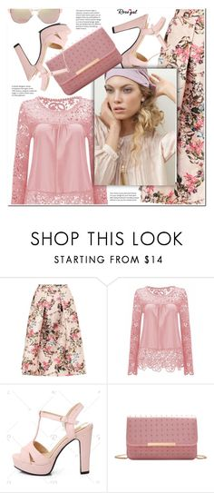 """""""Spring"""" by j-sharon ❤ liked on Polyvore featuring Ted Baker and Fendi"""