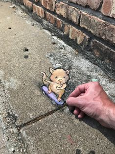 und mehr sluggo on the street — Helping out a friend with some wheels to get. David Zinn, Sculpture Art, Metal Sculptures, Abstract Sculpture, New York Graffiti, Sidewalk Chalk Art, 3d Street Art, Graffiti Lettering, Indigenous Art