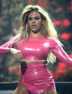Dinah-Jane Hansen performing at the Tidal x Brooklyn concert event in NYC