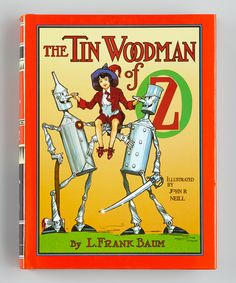 The Tin Woodman of Oz Hardcover | Daily deals for moms, babies and kids